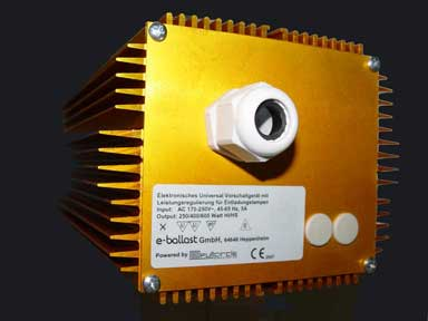universal electronic ballast front gold